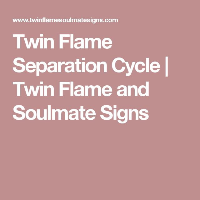 dating during twin flame separation