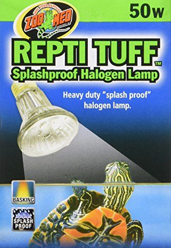 Zoo Med Repti Tuff Splashproof Halogen Lamp 50 Watts ** Check out the image by visiting the link. (Note:Amazon affiliate link)