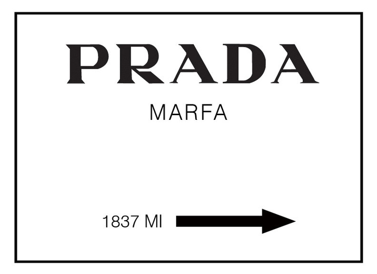 large prada marfa gossip girl poster art print milano. Black Bedroom Furniture Sets. Home Design Ideas