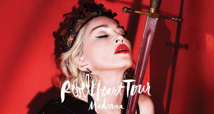 Le rebel Heart Tour de Madona entre dans l'histoire