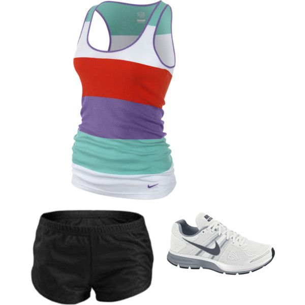 cute nike running outfit