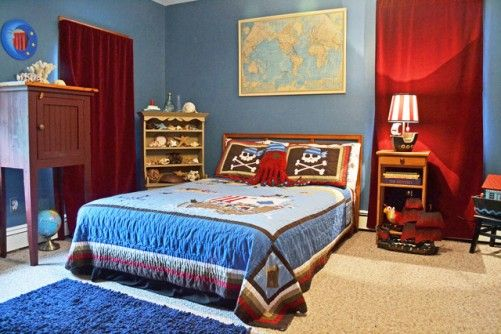 Pirate boys room decor gene 39 s bedroom ideas pinterest for Boys pirate bedroom ideas