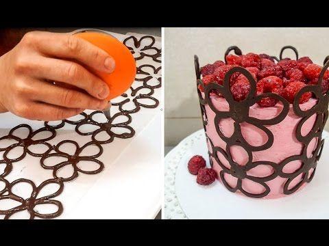 Step by step: Chocolate fondant for cake decoration – Dessert i …   – Kuchendesign