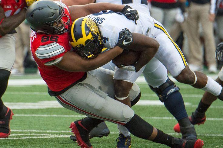 Buckeye Football Dre'Mont Jones vs Michigan Ohio State Football - OZone