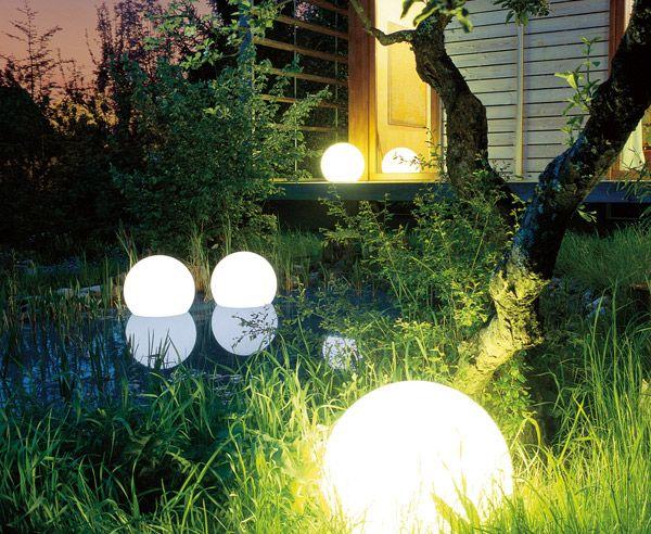 tolles gartenbeleuchtung fuer einen schoenen garten bei tag und nacht frisch abbild und cbbbadeafed ball lights globe lights