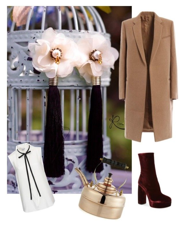 """""""Autumn mood"""" by lauraroni on Polyvore featuring Miu Miu, Frame Denim and Crate and Barrel"""