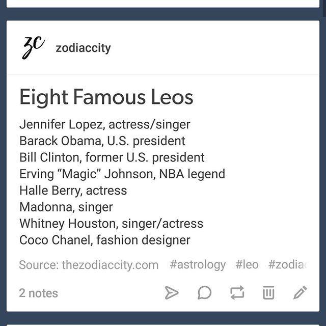 Eight Famous Leos, feel free to add to the list #leo #zodiaccity | TheZodiacCity.com | Shop: ZodiacCityShop.com