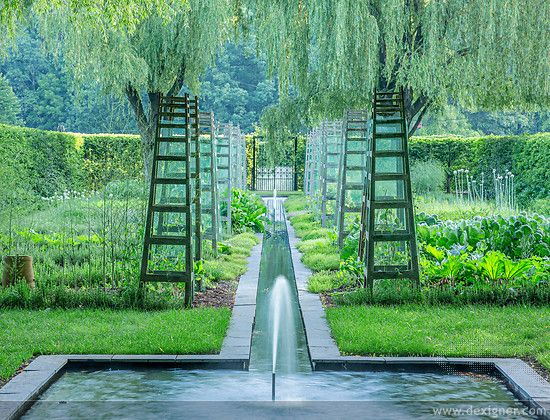 CLASSICAL FRENCH TRADITION The work of American Landscape Architect Dan Kiley in the spirit of French designer and gardener to King Louis XIV, often based on grids and allees that could be manipulated to alter the perception of scale and distance.