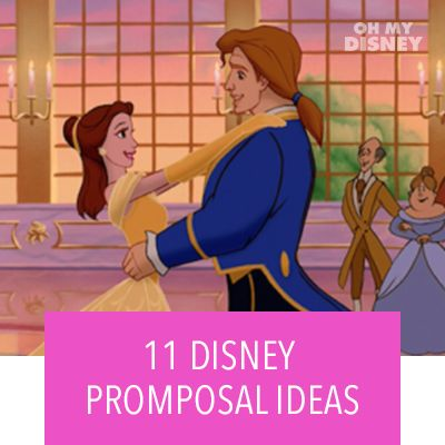 Hero Stream - OMD - 11 Disney Promposal Ideas