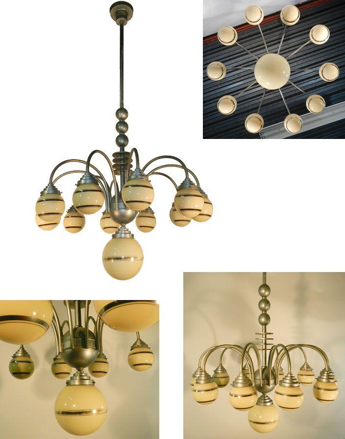 70 best luminaires art deco images on pinterest light. Black Bedroom Furniture Sets. Home Design Ideas