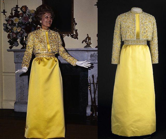 As roupas das primeiras damas