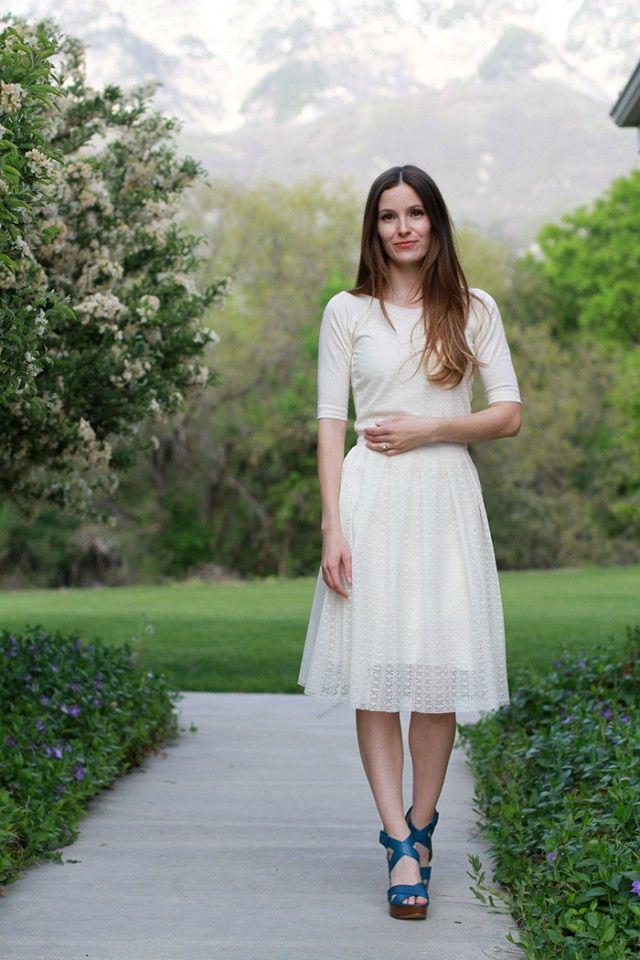 DIY modern pleated lace skirt  #diy  #LaceSkirt  @hpman