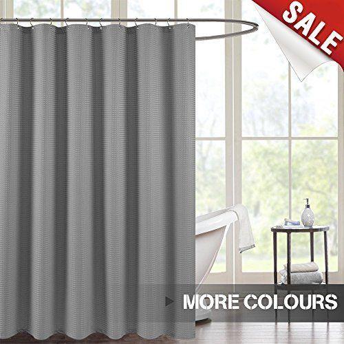 Jinchan Waterproof Fabric Shower Curtain For Bathroom