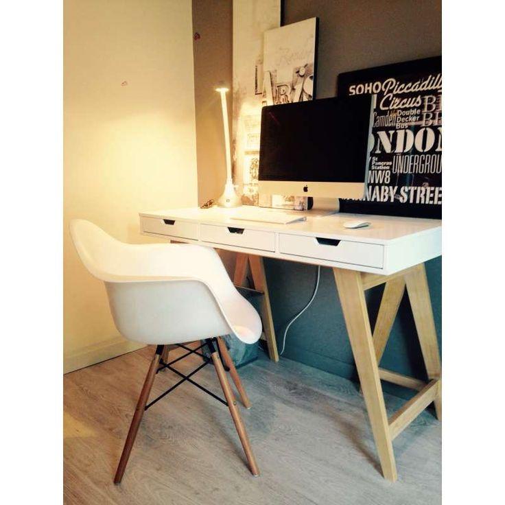 Daw abs arm chair geinspireerd door charles eames for Replica design meubelen
