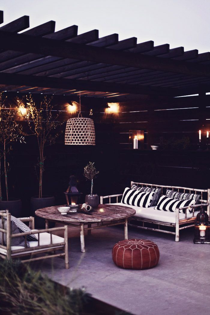 love this outdoor space. // Helt enkelt | Inredning – Foto – Inspiration