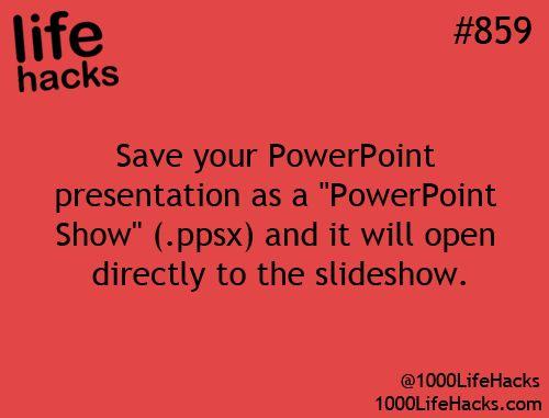 Powerpoint hack