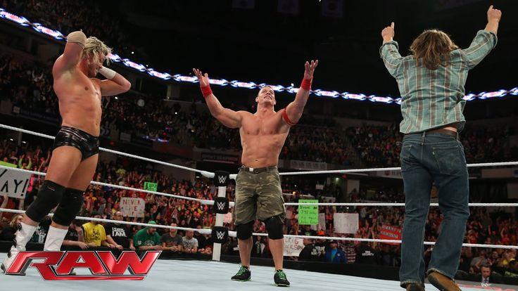John Cena & Dolph Ziggler vs. Seth Rollins, Jamie Noble & Joey Mercury: Raw, November 24, 2014