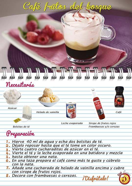 Prepara un delicioso #café con #helado  #DelRecetarioDoit #té #bebidas