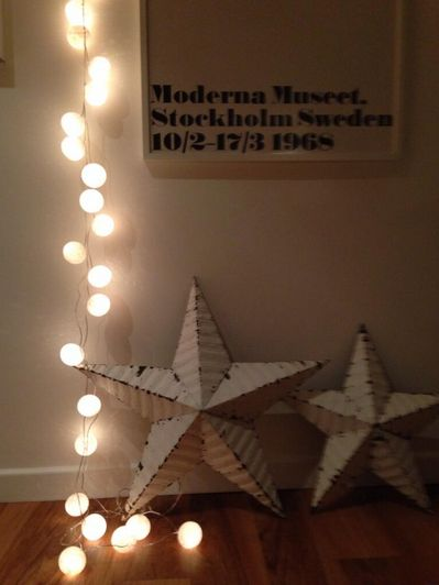 Lovely white Cable and Cotton lights