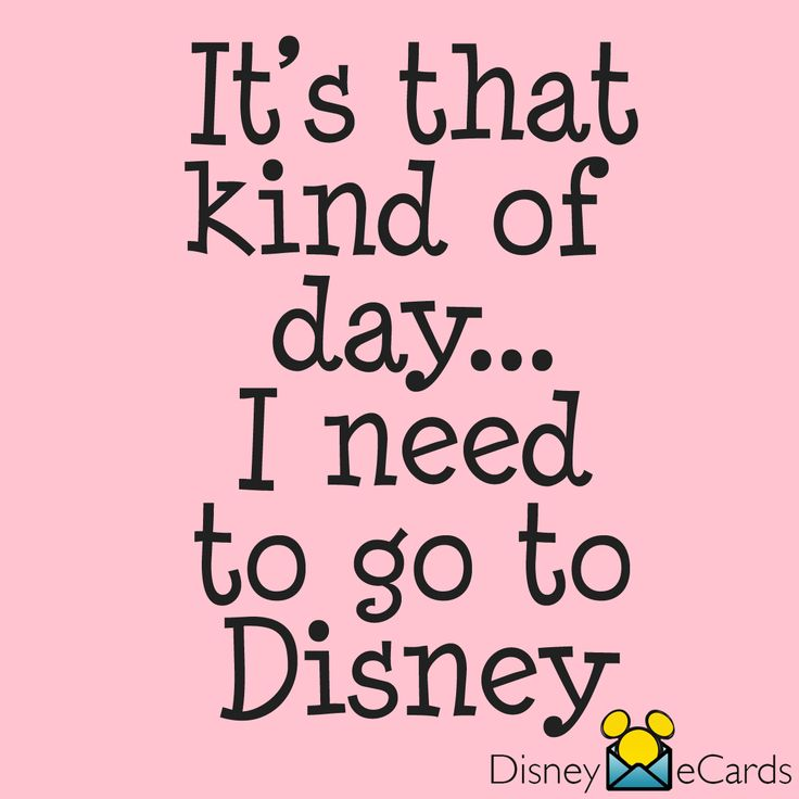 Every day is a good day to go to Disney!