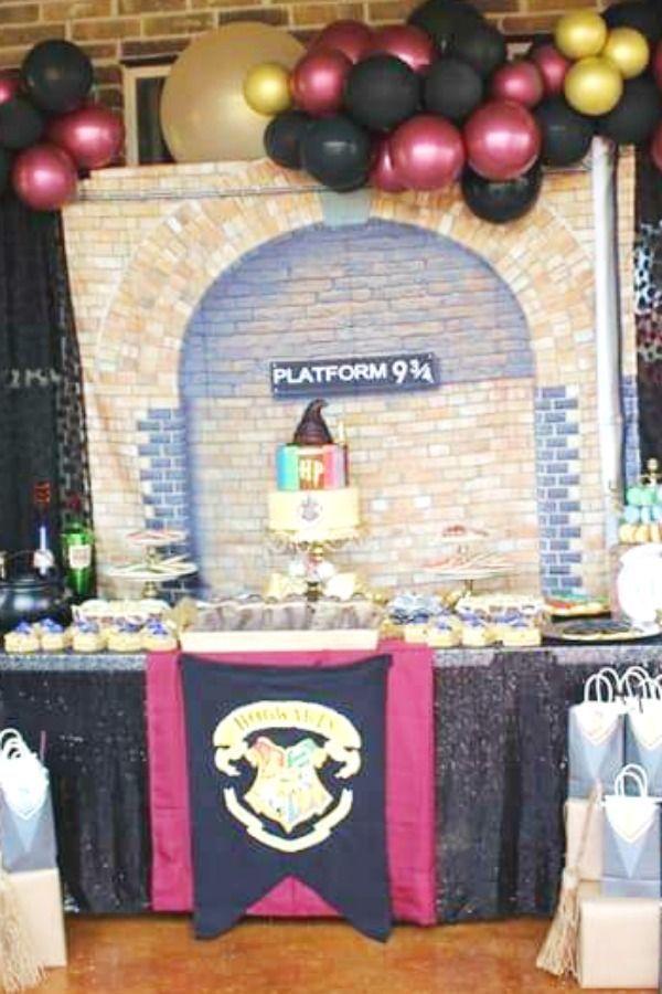 Harry Potter Birthday Party Harry Potter Birthday Party Harry Potter Birthday Party Decorations