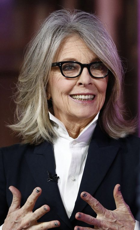 Best 25 Diane keaton hair ideas on Pinterest  Med bob hair cuts Hairstyles over 50 and Choppy