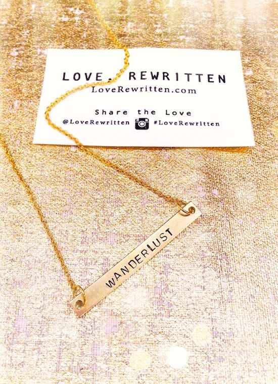 Wearable Mini-Mantras Stamped for the Soul | Pick Your Positivity at LoveRewritten.com