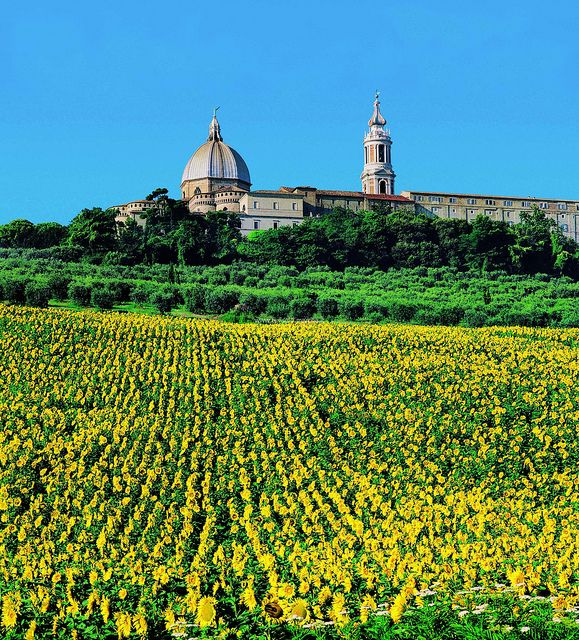 Loreto, where the house of the Virgin Marie found its place, province of Ancona , Marche region Italy