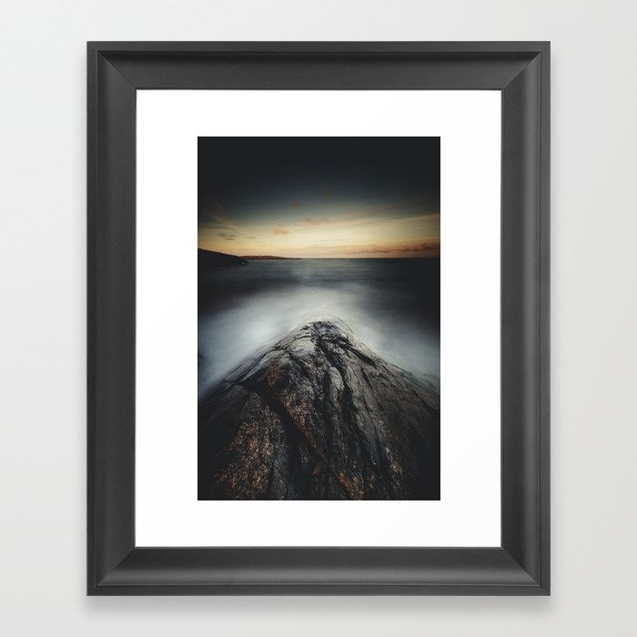 I´m a collider Framed Art Print by HappyMelvin | Society6