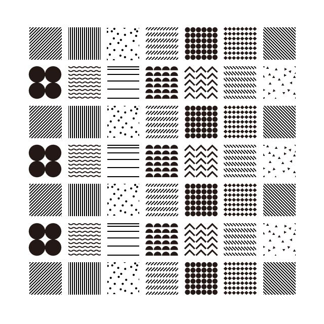 2014.02.17 2 / square pattern  #design #pattern #graphic