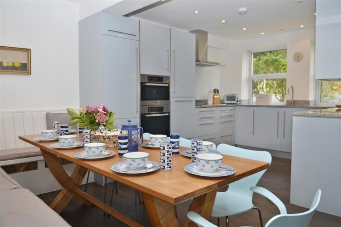 The fabulous, family kitchen at South Riding. Thurlestone, Devon.