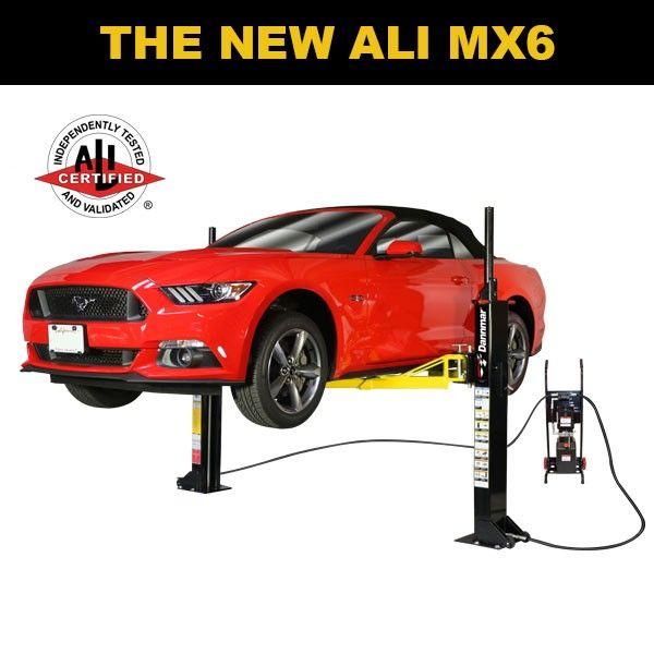 Dannmar MX-6 Portable Two Post Car Lift