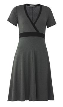 50 12 winter sport dress (melange grey/black)