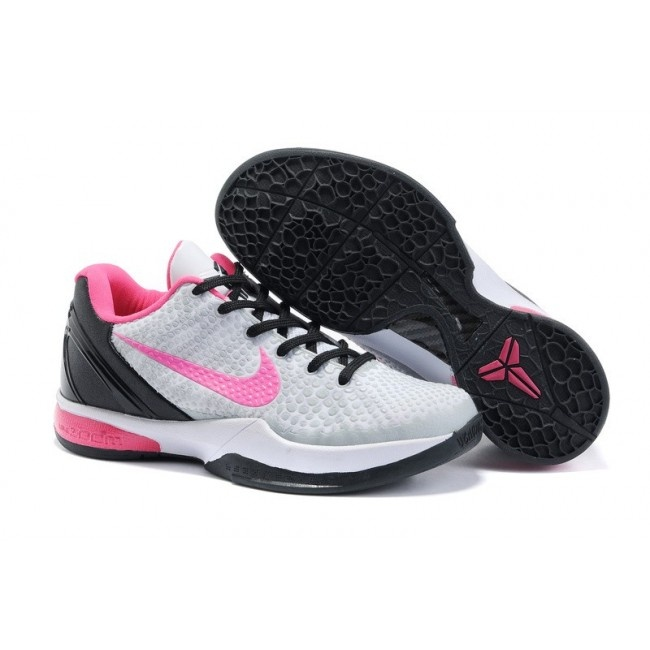 Nike Zoom Kobe VI Womens Basketball Shoes - Grey/Black/Pink Anyone would  love to have this shoes