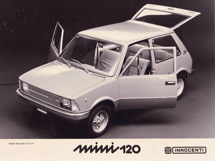 Innocenti Mini 120 - Design by Bertone