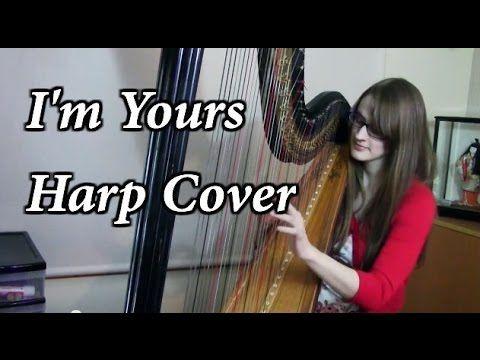 I'm Yours - Jason Mraz | Harp Cover + SHEET MUSIC - YouTube