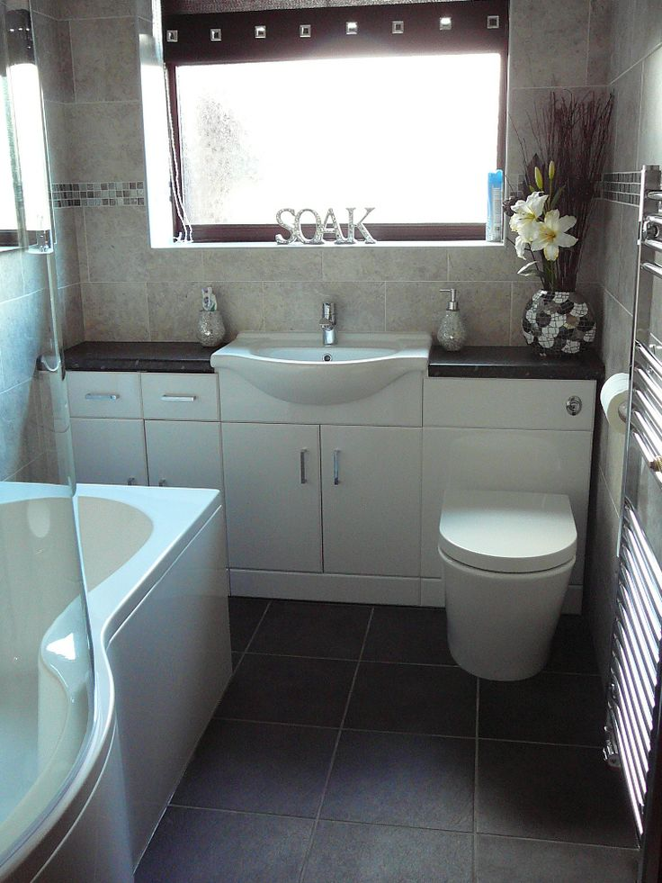 Irene from Lowestoft uses our intelligent storage solution furniture that combines basin, toilet and storage into one to save loads of floor space in her small bathroom. #VPShareYourStyle