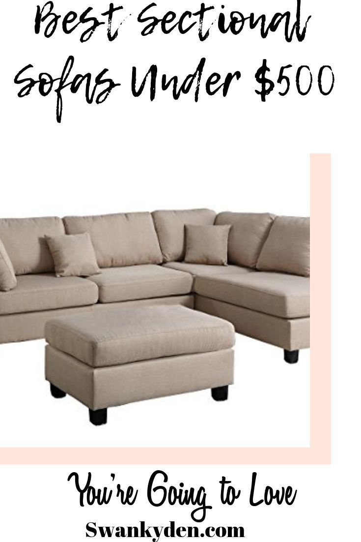 10 Cheap Sectional Sofas Under 500 You Ll Love In 2020 Swankyden Sectional Sofa Sofas For Small Spaces Sectional