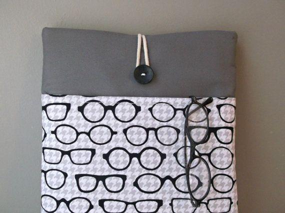 Macbook Pro 13 Case Pocket Eyeglasses Laptop Bag by MadeByJulie, $39.99