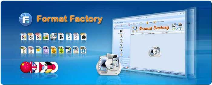 Format Factory é um conversor de mídia multifuncional.