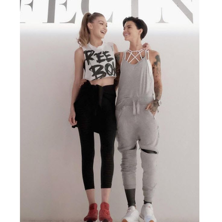 Ruby Rose goes gaga over Gigi Hadid at Reebok event: 'It's always about this girl for me'