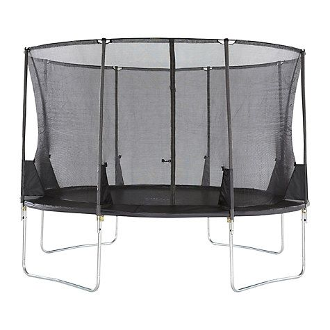 Buy Plum® Space Zone II 12ft Trampoline & Accessory Pack Online at johnlewis.com
