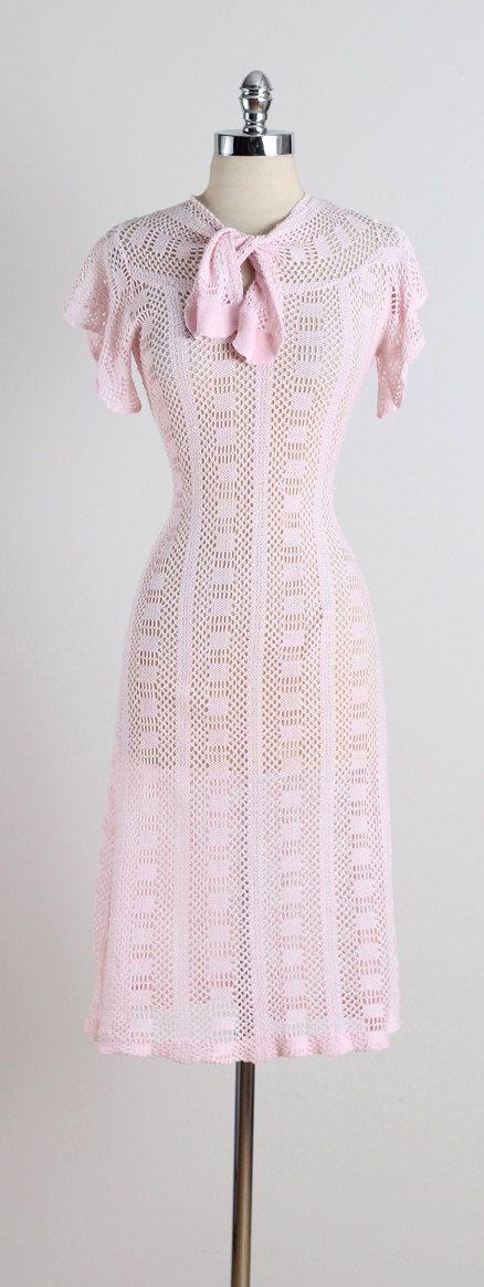 Evelynth . vintage 1930s dress . vintage by millstreetvintage