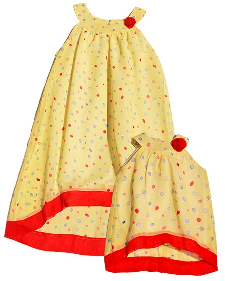 Matching Girl and Doll dresses by Wegirls