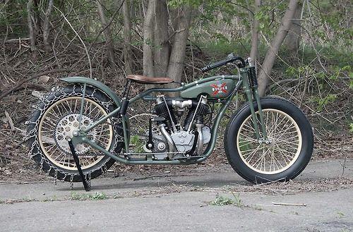 "Oldmotodude 1928 Harley Davidson Peashooter Hill Climber: 1928 Excelsior Hill Climber ""Big Bertha"""