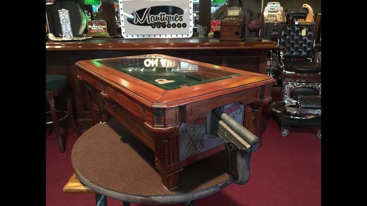 1928 A.B.T. Pool Table Countertop Arcade Shooting Game FOR SALE $5,495
