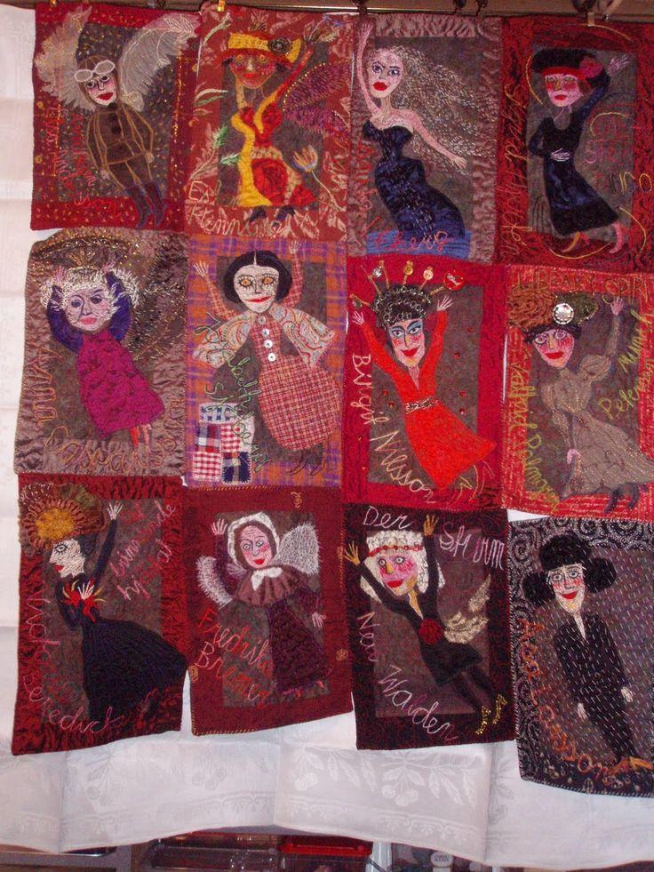 Ulva Ugerup Folk Quilts Pinterest