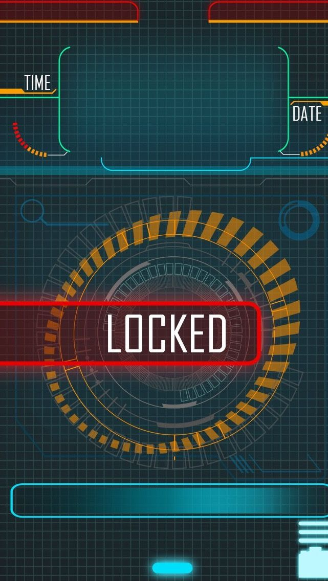 !!TAP AND GET THE FREE APP! Lockscreens Locked Multicolored Geometric Technology HD iPhone 5 Wallpaper