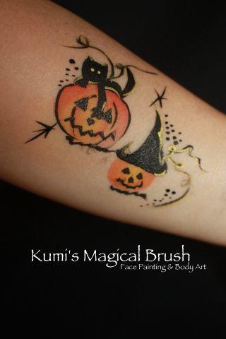 Gallery 2 (Anywhere Art) - Kumi's Magical Brush              Face Painting & Body art