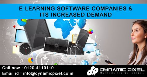 E-LEARNING SOFTWARE COMPANIES AND ITS INCREASED DEMAND ---> https://goo.gl/hRPiwg